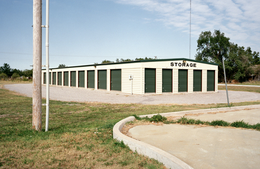 Nº2, Oklahoma, 2001 from the series:  Storage Units  20 x 24 inches edition of 20 archival pigment print