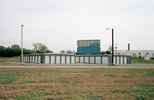 Nº7, Illinois, 2001 from the series:  Storage Units  20 x 24 inches edition of 20 archival pigment print