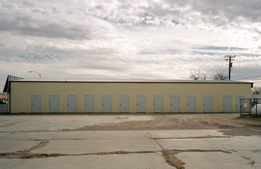 Nº20, Texas, 2001 from the series:  Storage Units  20 x 24 inches edition of 20 archival pigment print
