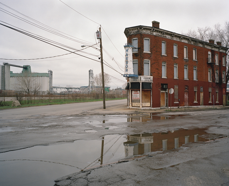 Abandoned Neighborhood Bar on Ohio Street (Since Demolished), Buffalo, New York, 2002 20 x 24 inches (edition of 20) 38 x 44.5 inches (edition of 10) archival pigment print