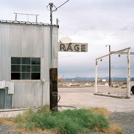 Rage, Baker, California, 2004 from the series:  Language in the Landscape  24 x 20 inches (edition of 20) 38 x 38 inches (edition of 10) archival pigment print