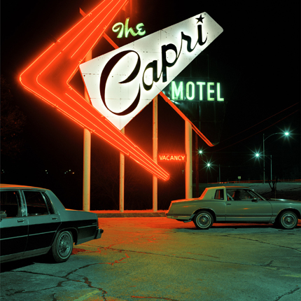 Capri Motel, Joplin, Missouri, 1993 24 x 20 inches (edition of 20) 38 x 38 inches (edition of 10) archival pigment print