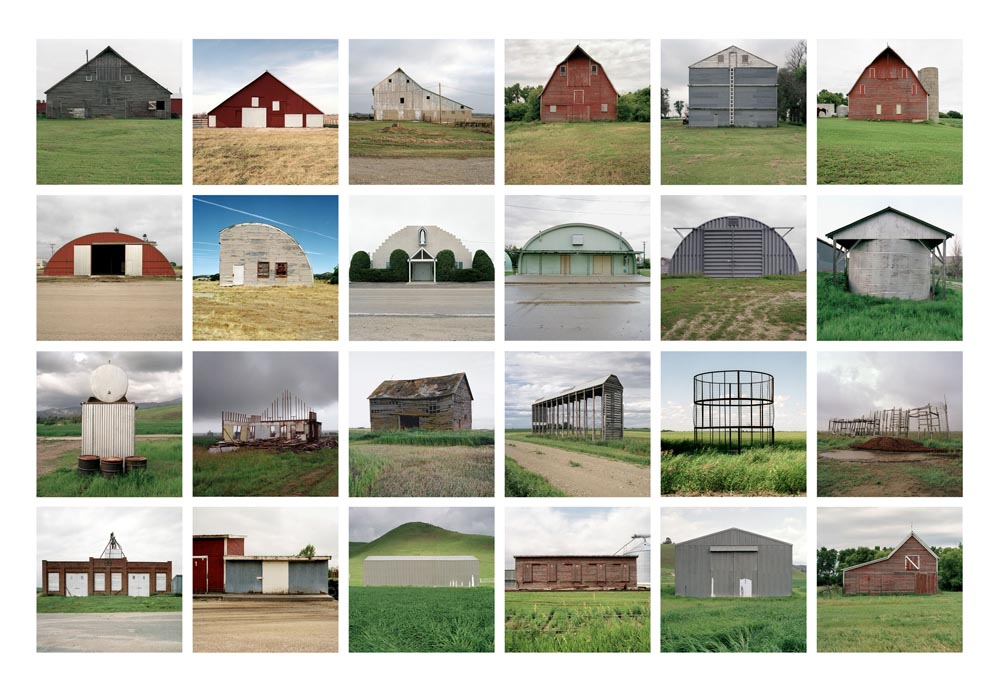 Farm Forms Portfolio, 1993 7 x 7 inches (24 prints) edition of 9 archival pigment prints