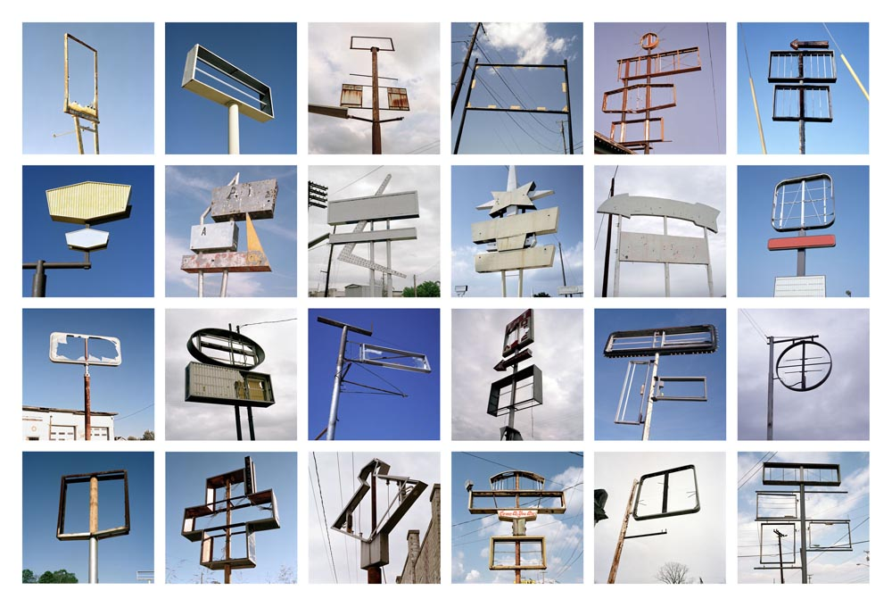 Signs without Signification Portfolio, 2003-2007 7 x 7 inches (24 prints) edition of 9 archival pigment prints