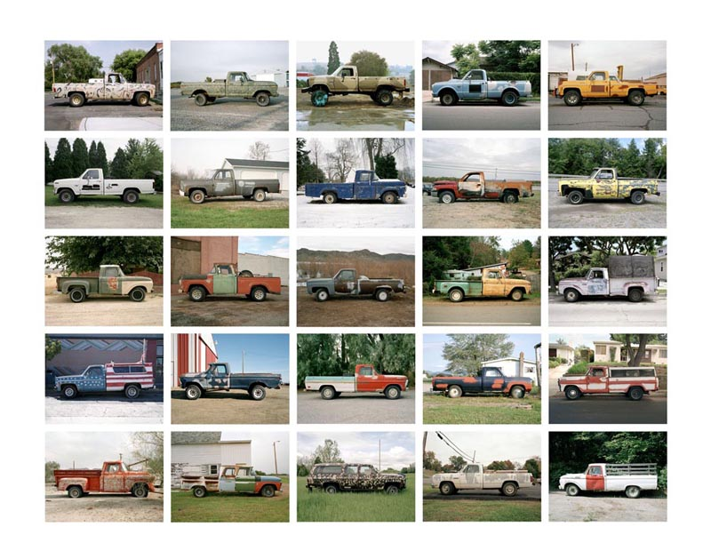 Partially Painted Pickup Trucks Portfolio, 1994-2006 7 x 9 inches (25 prints) edition of 9 archival pigment prints