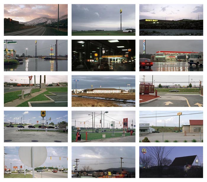 Best Buy: Fifteen Photographs of the Franchised Landscape 10 x 16 inches (15 prints) edition of 9 archival pigment prints