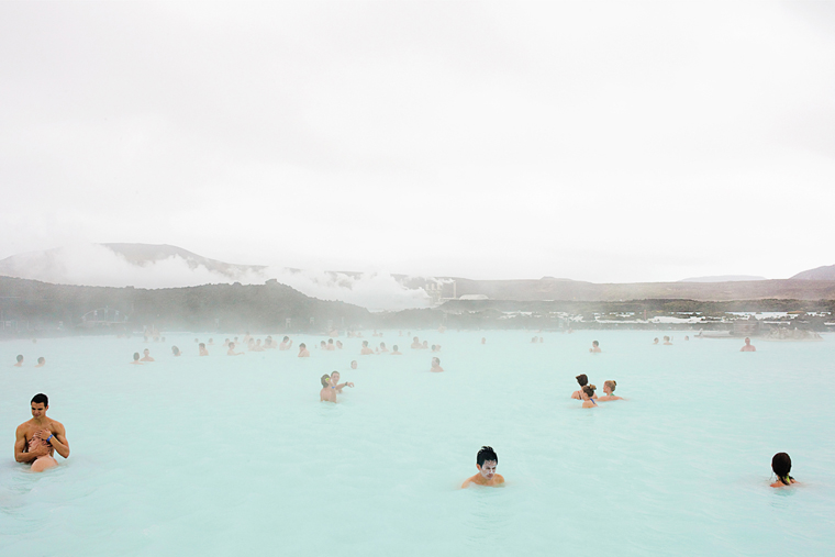 Blue Lagoon, Reykjavík, 2011 from the series  Ísland  24 x 35.5 inches / 60 x 90 cm (edition of 8) 29.5 x 43.5 inches / 75 x 110 cm (edition of 8) archival pigment print