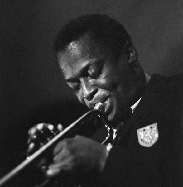 Miles Davis, Birdland, New York City, 1948 silver print 17 x 14 inches from a limited edition of 50