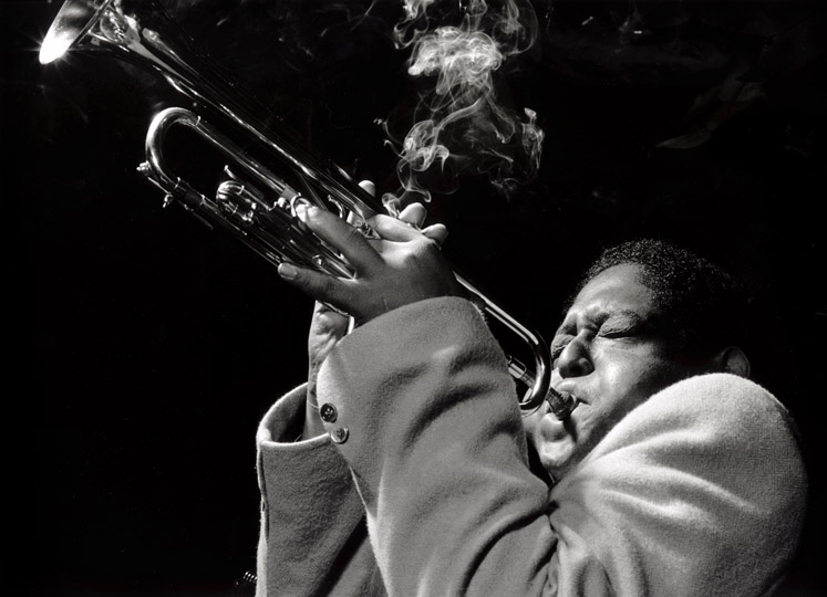 Fats Navarro, Royal Roost, 1948 silver print 16 x 20 inches from a limited edition of 50