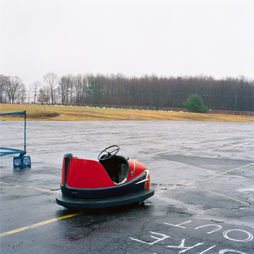 Lone Bumper Car, Connecticut, 1991 24 x 20 inches edition of 20 chromogenic dye coupler print