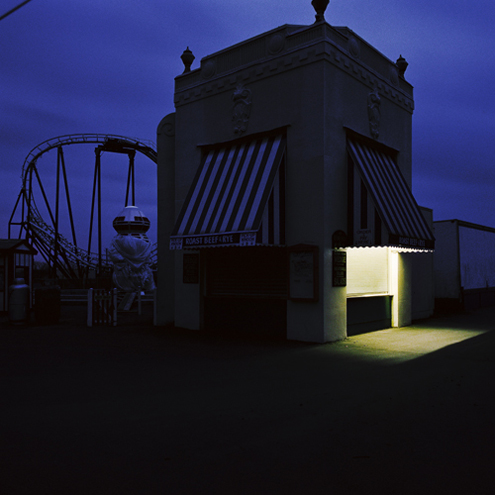 Playland, Rye, New York, 1991 38 x 38 inches edition of 10 chromogenic dye coupler print