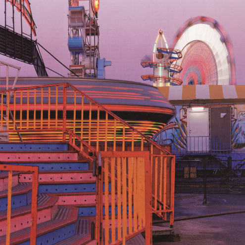 Magenta Midway, Ventura, California, 1990 38 x 38 inches edition of 10 chromogenic dye coupler print