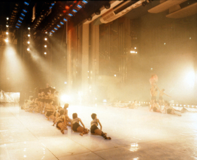 At NHK Hall, Tokyo, New Year's Eve, 1983 30 x 40 inches edition of 6 chromogenic dye coupler print