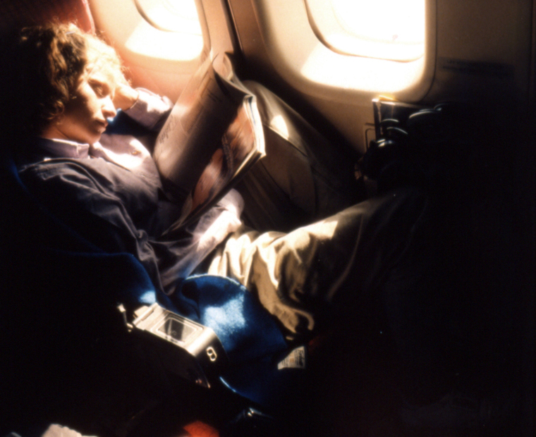 Over the Pacific on a Flight to San Francisco, 1986 30 x 40 inches edition of 6 chromogenic dye coupler print