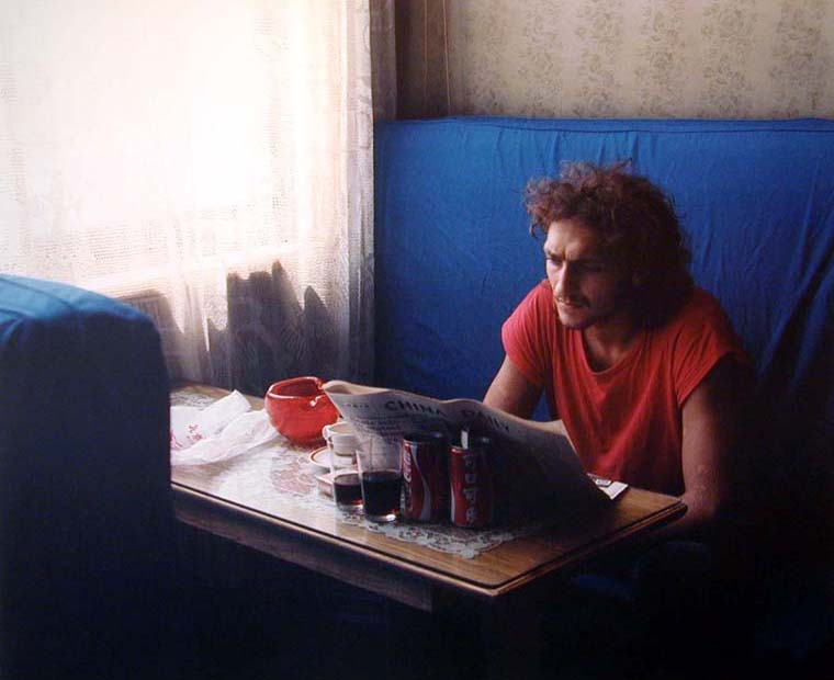 A Tourist in the Bar at the Peking Hotel, 1986 30 x 40 inches edition of 6 chromogenic dye coupler print