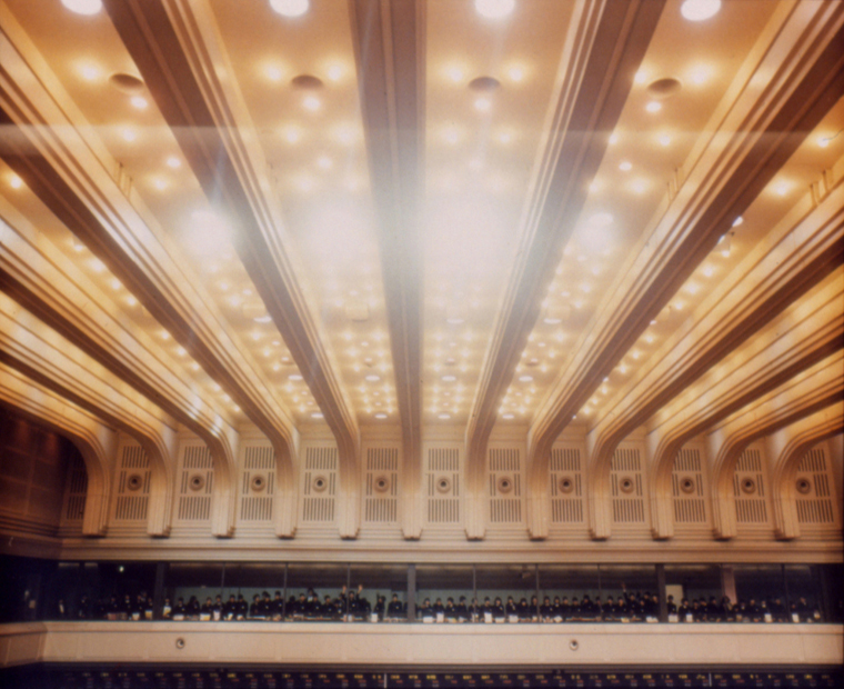 At the Tokyo Stock Exchange, 1996 30 x 40 inches edition of 6 chromogenic dye coupler print