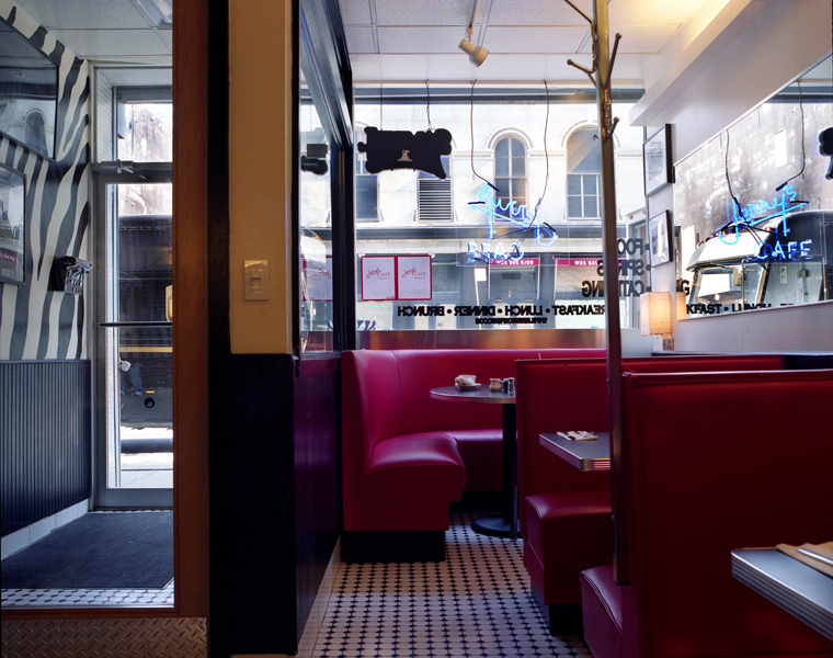 Jerry's, 90 Chambers Street, 2009 16 x 20 inches 36 x 43 inches 48 x 57 inches edition of 10 chromogenic dye coupler print