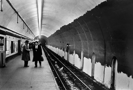 Fifth Avenue Station I.N.D. Subway, New York, 1960 9.5 x 14 inches vintage silver print