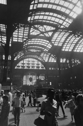 Penn Station, New York, 7/1965 14 x 10 inches silver print