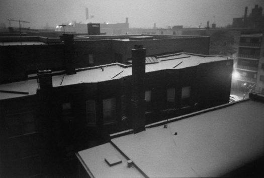 West Melrose Street, Chicago, 1972 7 x 10 inches vintage silver print