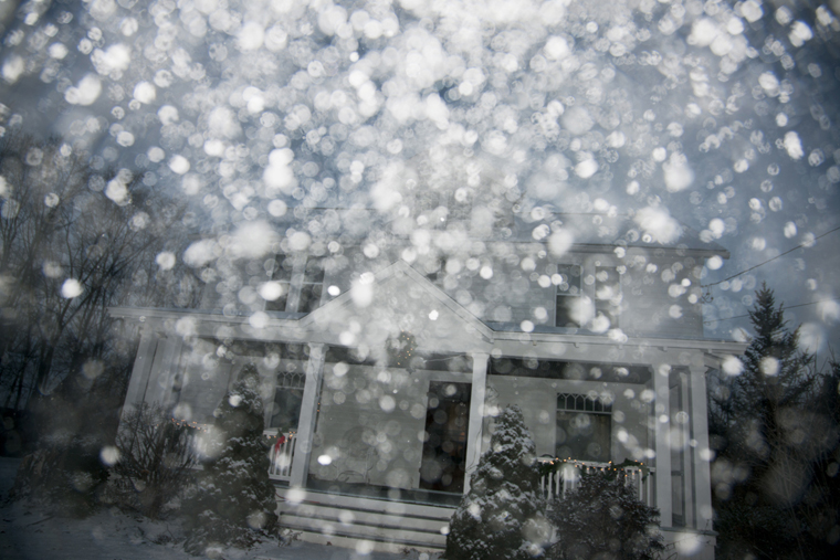 House, 2014 from the series  Snow  15.33 x 23 inches edition of 10 archival pigment print