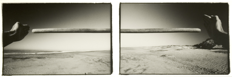 Baja California (23 February 1980) sequence of two 7.75 x 11.5 inch vintage silver prints