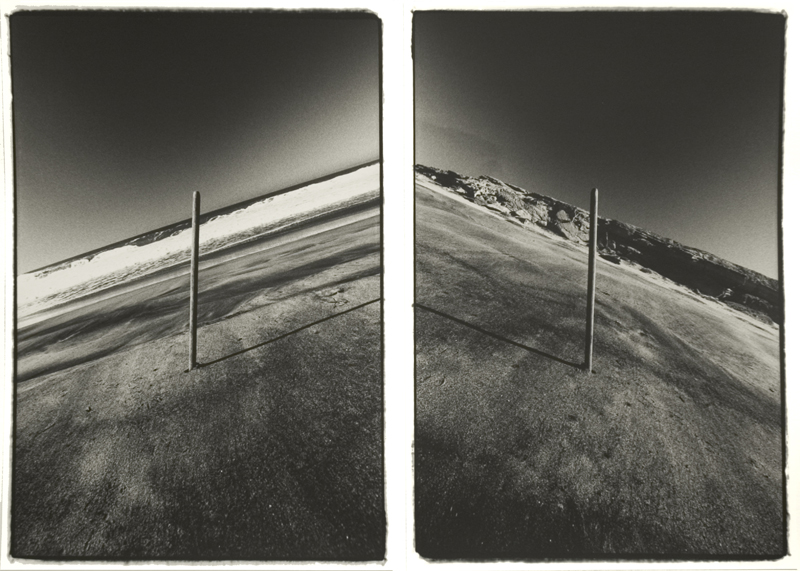 Baja California (22 February 1980) sequence of two 15.25 x 10.25 inch vintage silver prints
