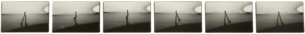 The Great Sand Dunes (15 November 1979) sequence of six 2.5 x 4 inch vintage silver prints