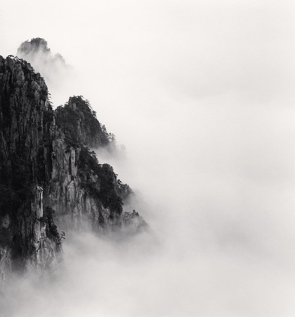 Huangshan Mountains, Study 6, Anhui, 2008 8.25 x 7.75 inches edition of 45 toned silver print