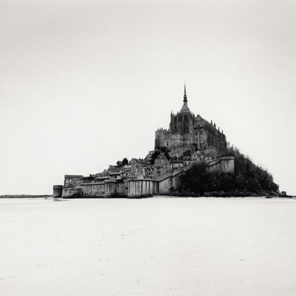 Low Tide, Mont St. Michel, France, 2004 7.75 x 7.75 inches edition of 45 toned silver print
