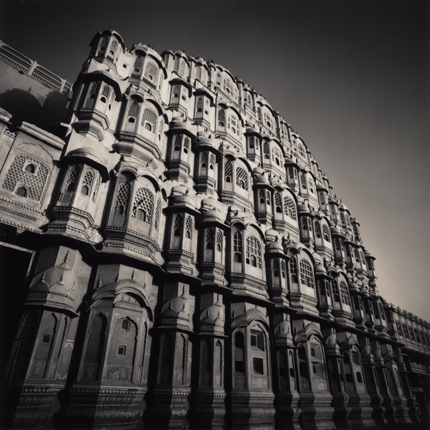 Palace of Winds, Jaipur, India, 2006 8 x 8 inches edition of 45 toned silver print