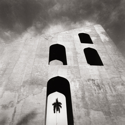 Jantar Manter Observatory, Study 2, Delhi, India, 2006 7.75 x 7.75 inches edition of 45 toned silver print