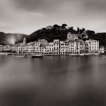 Early Morning, Portofino, Italy, 2003 7.75 x 7.75 inches edition of 45 toned silver print