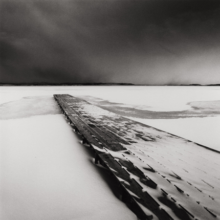 Stark Outlook, Kucharo Lake, Hokkaido, Japan, 2004 7.5 x 8 inches edition of 45 toned silver print