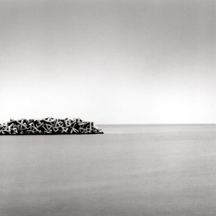 Triangle Gathering, Higashiura, Hokkaido, Japan, 2004 7.5 x 8 inches edition of 45 toned silver print