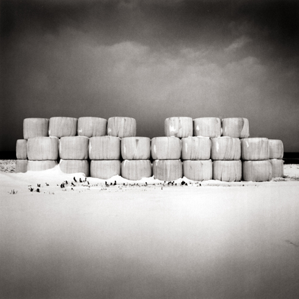Winter Storage, Oumu, Hokkaido, 2004 7.5 x 7.75 inches edition of 45 toned silver print