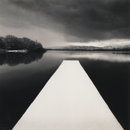White Pier, Onuma Lake, Hokkaido, Japan, 2005 7.5 x 8 inches edition of 45 toned silver print