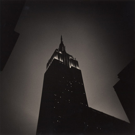 Empire State Building, Study 4, New York, 2007 8 x 7.75 inches edition of 45 toned silver print