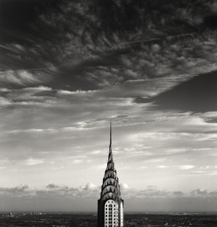 Chrysler Building, Study 3, New York, 1998 8 x 7.75 inches edition of 45 toned silver print