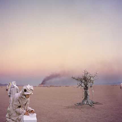 Silent Engineers, 2005 30 x 30 inches 40 x 40 inches edition of 5 chromogenic dye coupler print mounted to dibond aluminum