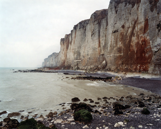 Senneville-sur-Fecamp, 7 November 2006 from the series  Rockfalls  36 x 45 inches edition of 6 chromogenic dye coupler print