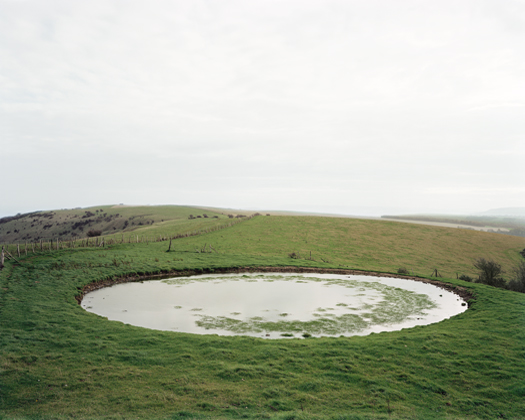 Ditchling Beacon, 1999 from the series  Dew Ponds  36 x 46 inches edition of 6 chromogenic dye coupler print