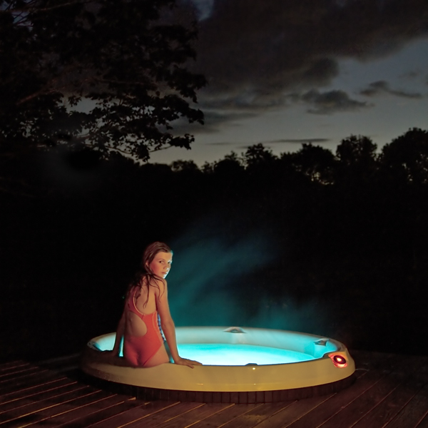 The Hot Tub, Syd, Rockport, Maine, 2011 from the series  Gardening at Night  14 x 14 inches (edition of 10) 28 x 28 inches (edition of 7) 40 x 40 inches (edition of 5) chromogenic dye coupler print