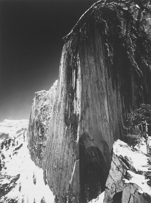 Monolith, The Face of Half Dome, Yosemite Valley, c. 1927 silver print 20.75 x 16.25 inches