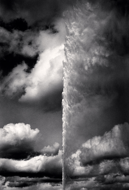 Jet d'Eau, Geneva, 2012 9.5 x 6.5 inches edition of 45 toned silver print