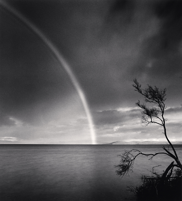 Late Afternoon Rainbow, Dunalley, Tasmania, 2013 8.25 x 7.5 inches  edition of 45 toned silver print