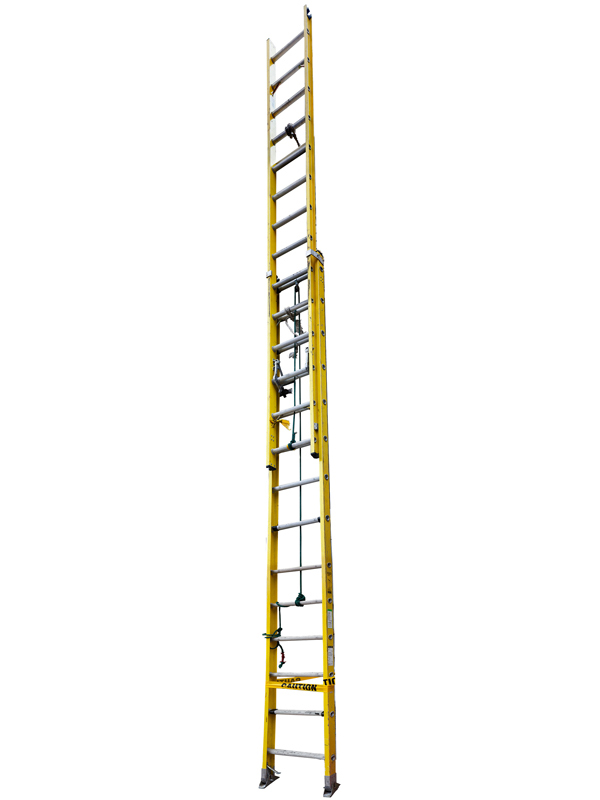 Extra Large: Extension Ladder Yellow, 2013 edition of 10 pigment ink on Photo-Tex paper 218 x 24 inches