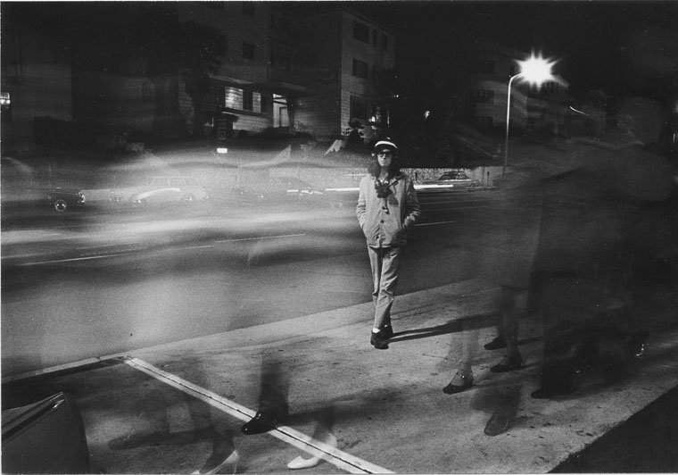 Untitled 1971 from the series  Myself: Timed Exposures  5.75 x 8.25 inches vintage silver print