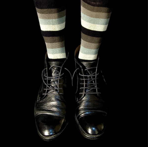 René Peña Black Shoes, 2007 24 x 24 inches edition of 5 archival pigment print
