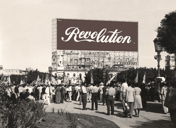 Liudmila & Nelson Enjoy Revolution No. 3, from the series Hotel Habana, 2012-13 31.5 x 42 inches edition of 3 archival pigment print